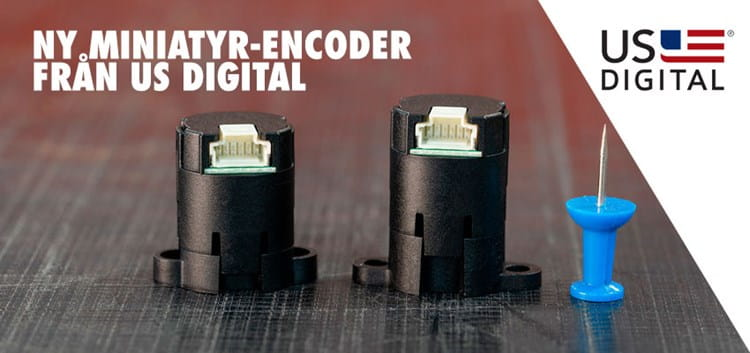 M3K miniatyr encoder US digital